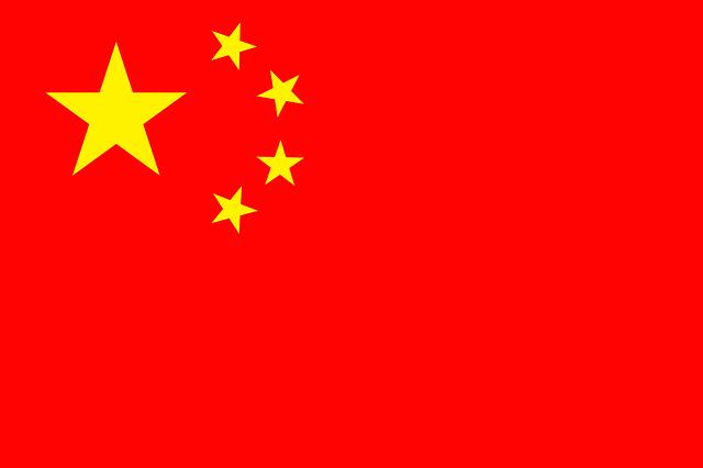 vlajka Číny